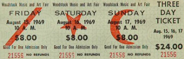 Woodstock-Ticket
