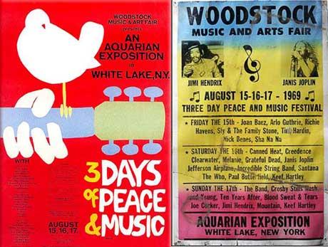 Woodstockposters